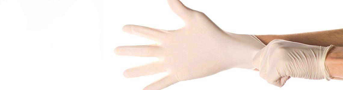 Перчатки латексные неопудренные оптом
